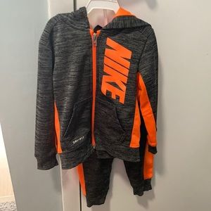Nike dri fit toddler tracksuit